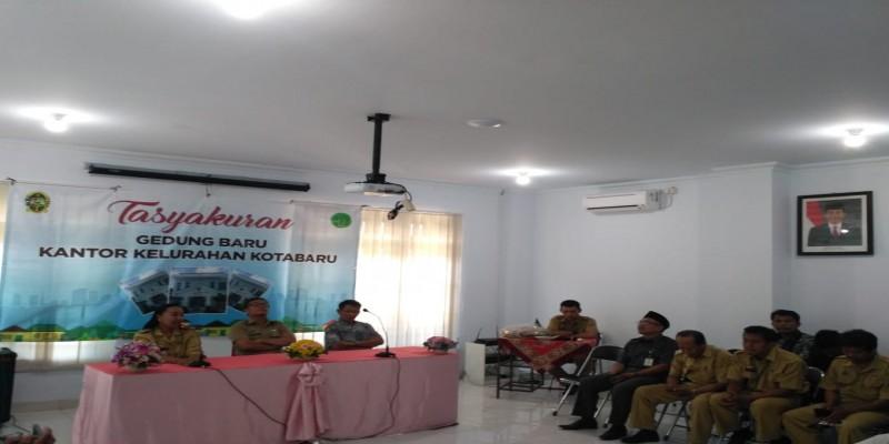 Tasyakuran Gedung Baru Kantor Kelurahan Kotabaru