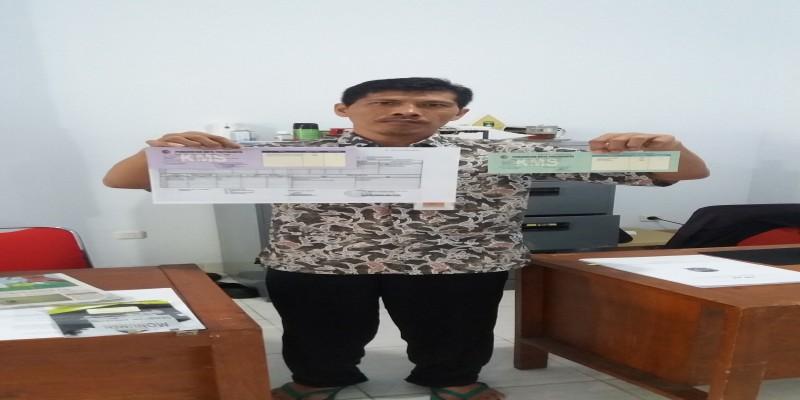 Pengambilan KMS Kelurahan Kotabaru Tahun 2019