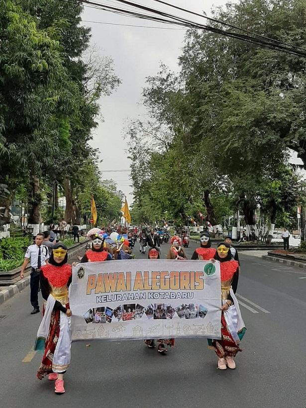 Pawai Alegoris Kelurahan Kotabaru Tahun 2019