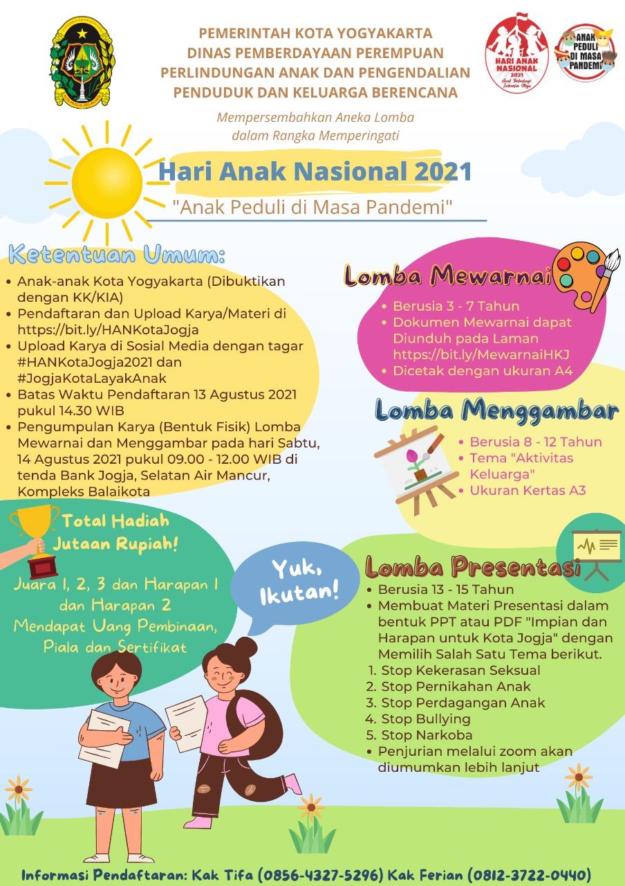 Lomba Hari Anak Nasional Tahun 2021