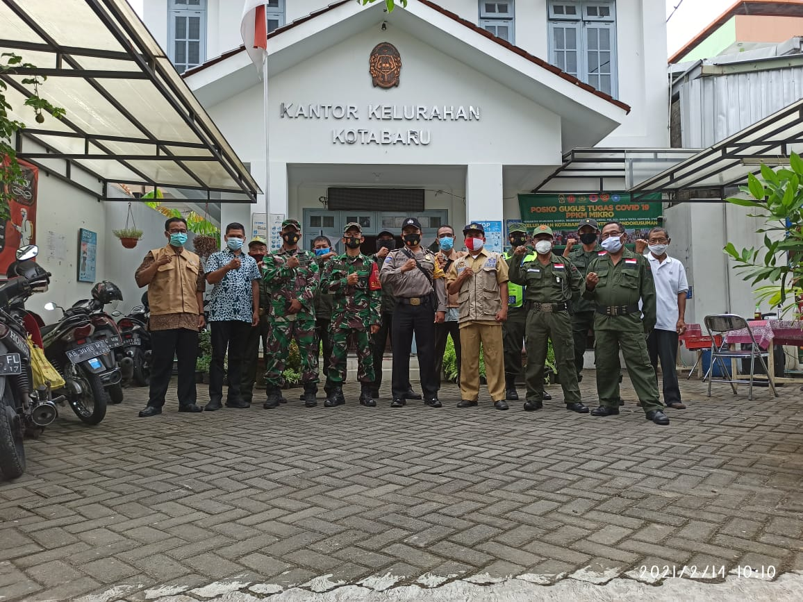 Giat di Posko PPKM Skala Mikro Covid-19 Kelurahan Kotabaru