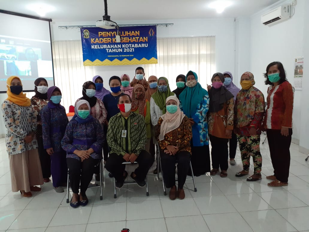 Penyuluhan Kader Kesehatan Kelurahan Kotabaru